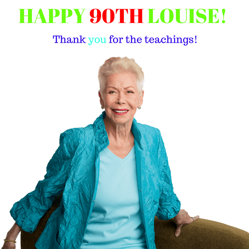 20161008 HAPPY 90TH BIRTHDAY, LOUISE
